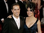 Behind the wheel: Actress Salma Hayek's younger brother Sami (left) was involved in a fatal car crash Sunday in Los Angeles