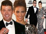 Childhood sweethearts Robin Thicke and Paula Patton separate after nine years of marriage... but insist they will remain best friends