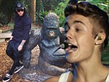 'No more monkey business': Justin Bieber hints he's putting his bad boy ways behind him with cheeky Instagram post days after dropping first single since arrest