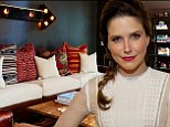 Almost four years after buying her Hollywood Hills home, jet setting actress Sophia Bush finally decorates it