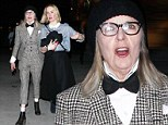 Who would have guessed they are fans? Diane Keaton and Sarah Paulson arrive at Miley Cyrus concert in very quirky outfits