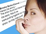 'They fired us all': Brooke Burke-Charvet jokes about being asked to leave Dancing With The Stars... as she shares makeup free photo