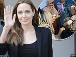 Angelina Jolie makes a surprise visit to Lebanon on humanitarian trip after brief reunion with Brad Pitt in London