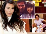 Remembering: Kim Kardashian shared this flashback snap of herself and her father Robert Kardashian on Saturday, what would have been his seventieth birthday