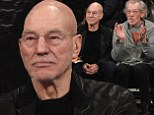 Basketball bromance! Best buddies Sir Ian McKellen and Sir Patrick Stewart have a ball court-side at the New York Knicks