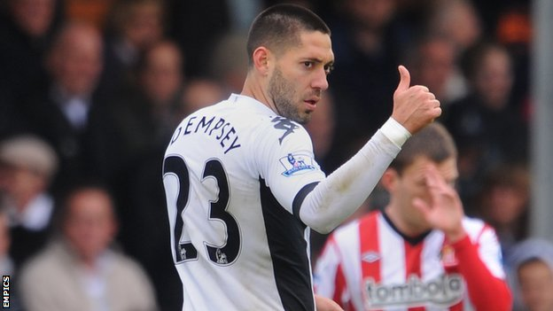 Clint Dempsey scored Fulham's first
