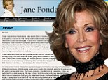 'I have so little time left!' Jane Fonda, 76, reveals she can't stop crying as she comes to terms with her own mortality