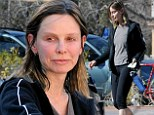 The pressure's on: Calista Flockhart swaps daily jog for a gruelling gym workout a week before the Oscars where husband Harrison Ford will present