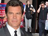 Mixing business with pleasure! Josh Brolin and his assistant turned love interest Kathryn Boyd kiss in Rome
