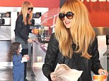 She is sweet on him! Doting mother Rachel Zoe takes adorable son Skyler out for his favourite frozen treat