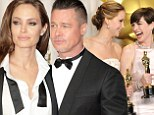 All-star roster: Angelina Jolie and Brad Pitt join Jennifer Lawrence and Anne Hathaway as presenters at the Academy Awards