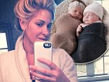 'The babies are keeping me busy!': Kim Zolciak wears old bathrobe and goes make-up free in new Instagram snap