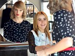Starstruck Kiernan Shipka looks overwhelmed as she meets Taylor Swift during shopping spree