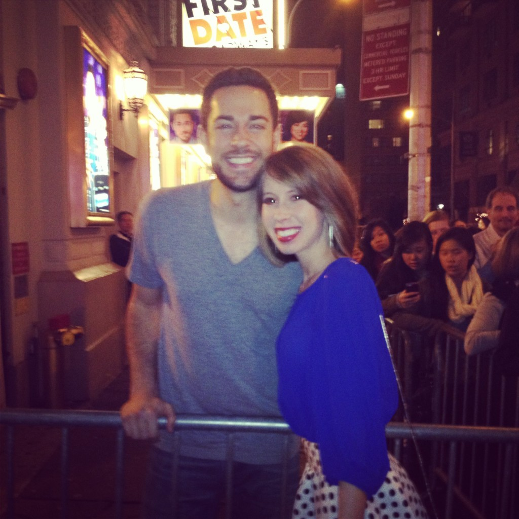 meeting Zachary Levi