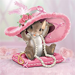Charming Tails Collectible Hats Off To A Cure Breast Cancer Awareness Figurine Gift - Exclusive Collectible Charming Tails Figurine! Limited-edition Breast Cancer Awareness Gift Benefiting Breast Cancer Charity