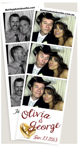 Melbourne wedding photobooth