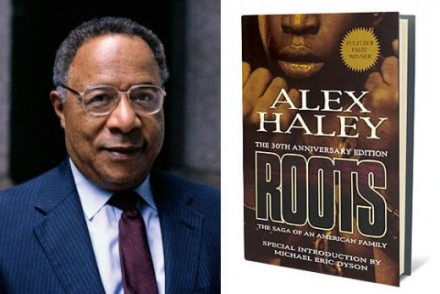Alex Haley and his book