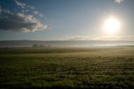 early morning landscape