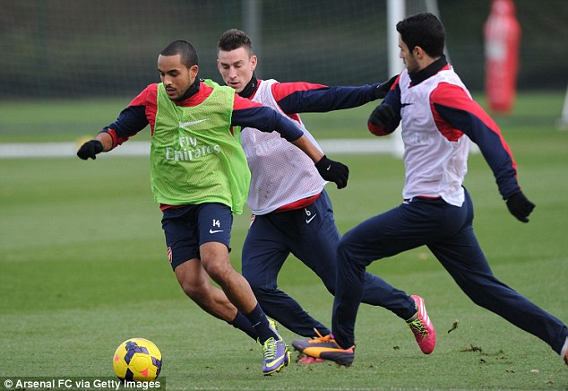 Prove yourself! Theo Walcott has five months to convince Roy Hodgson that he should go to the World Cup