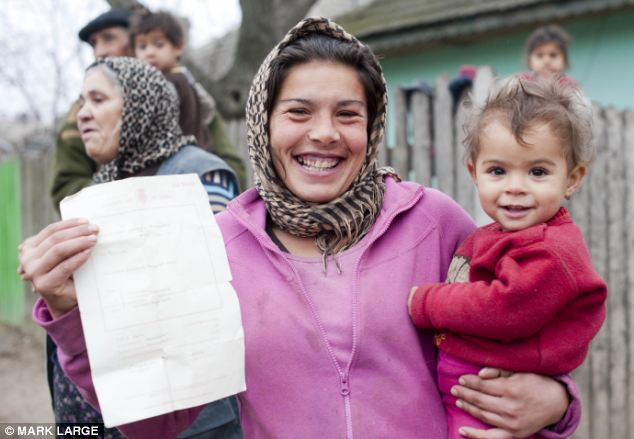On the advice of Firuta, Nadia travelled to the UK last August in order to make sure her daughter was born here as it would make it easier to get state handouts