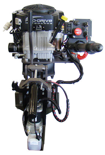 outboard surface drive motor