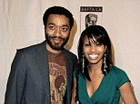 Siblings: Chiwetel and his sister Zain pictured at a Hollywood event