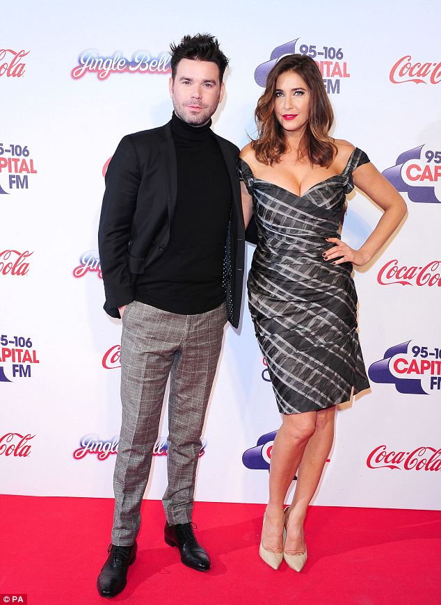 Check them out! Dave Berry and Lisa Snowdon attend the Capital FM Jingle Bell Ball at the O2, London