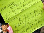 Touching note little boy whose father died in war handed to soldier with $20 he found in a car park