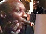 Troubled basketball player Lamar Odom parties with teammates after lasting just SIX minutes on court for his Euroleague debut
