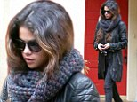 She's ready for the cool change! Selena Gomez rugs up in thick and wooly winter outfit for a day out in LA