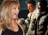 The countdown begins! Goldie Hawn is joined by fellow presenters Channing Tatum and Will Smith during final rehearsals before Oscars ceremony