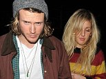 Ellie Goulding and boyfriend Dougie Poynter out at Soho House