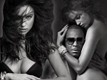 A nude awakening! Irina Shayk and R.Kelly ramp up the raunch in steamy shoot for V Magazine