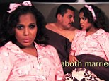Kerry Washington has an affair with the Mexican president in a hilarious Spanish language spoof of her hit series Scandal