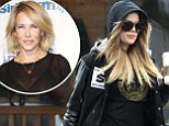 Hot stuff: Khloe Kardashian picks up coffee before workout as she's announced to take over for Chelsea Handler next month