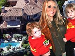 Brooke Mueller 'is living in $5m mansion with twin sons from Charlie Sheen... as temporary guardian is nowhere to be seen'
