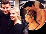 Buffy and Angel together again! Sarah Michelle Gellar reunites with vampire love David Boreanaz ten years after TV show