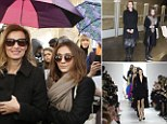 Heartbroken, moi? Valerie Trierweiler beams as she's pictured at Dior fashion show and on the Metro in first public appearance in France since split from Francois Hollande
