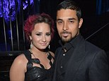 They Wouldn't Change a Thing! Demi Lovato and Wilmer Valderrama look loved-up in coordinated black outfits at unite4: good gala