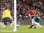 Clinical: Filip Djordjevic scores the second goal for Serbia