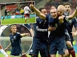 Scotland beat Poland 1-0 in Warsaw
