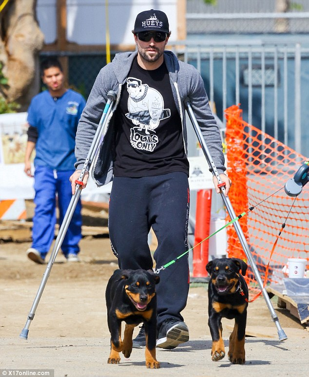 Jenner recently hurt his knee and tweeted: 'Good news on the MRI!! Only fractured my lateral tibia plateau and tore my meniscus!! No ACL, PCL,LCL OR MCL tear!!!!!'