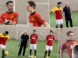 The master and the apprentice, Giggs and Januzaj freestyle in United skills challenge