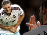 Andy Carroll's finger