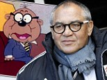 Seeing double: Felix Magath looks remarkably like Danger Mouse character Penfold