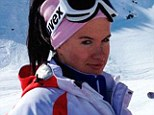 Tragic accident: Russian freestyle skiing pin-up girl Maria Komissarova, 23, is paralysed from the waist down after a training accident in Sochi