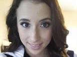Revealed: The Duke University freshman revealed this photo of herself in a column for XOJane.com as well as her stage name, Belle Knox