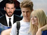 Andrew Garfield and Emma Stone 'skipped Oscar ceremony due to 'personal matter' leaving Chris Evans to step in at last minute