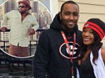 Whitney Houston's son-in-law, Nick Gordon with Bobbi Kristina before fight with Gary Houston.