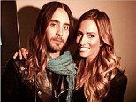 They're hair twins! Extra correspondent Renee Bargh and Jared Leto sport matching sun kissed tousled locks during interview